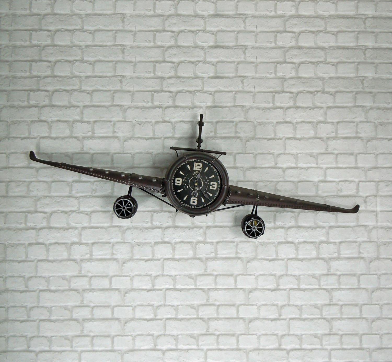 Aeroplane wall clock