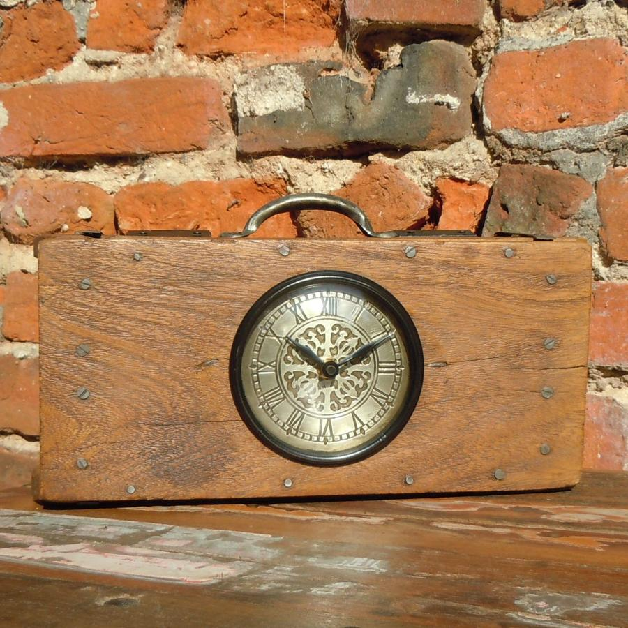 Recycled brick mould clock