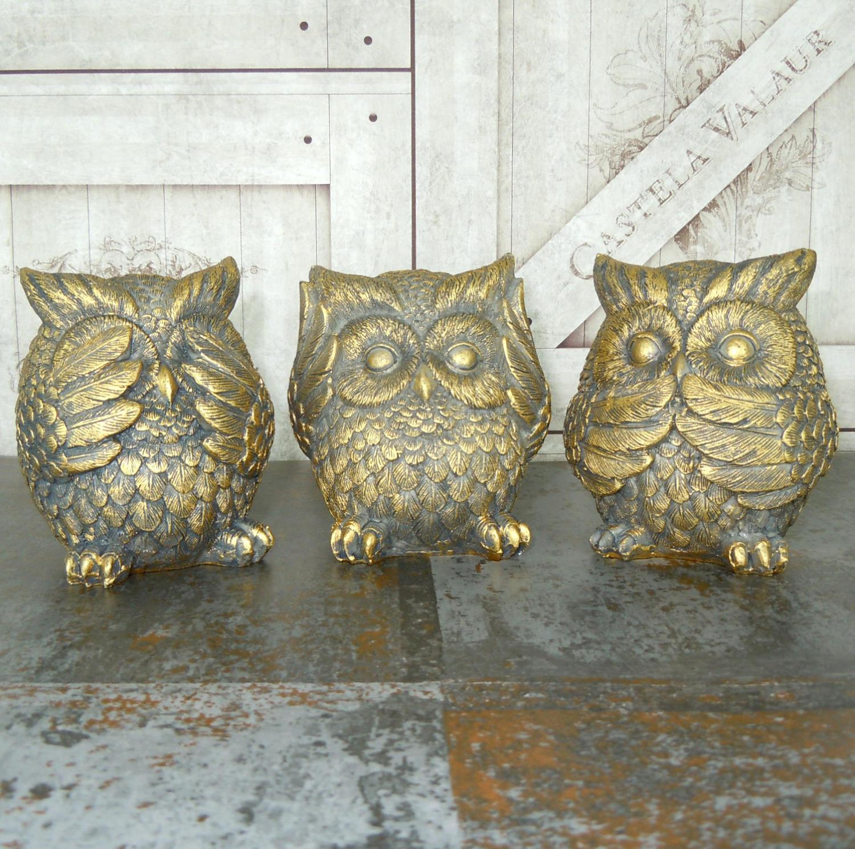 See, Hear, Speak no evil Owls