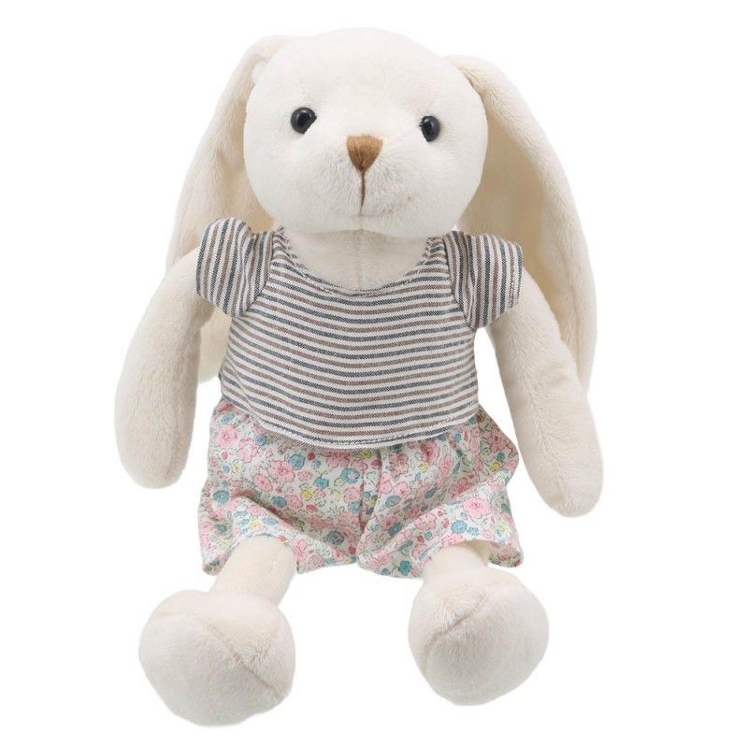 Wilberry Friends Mr Rabbit pink