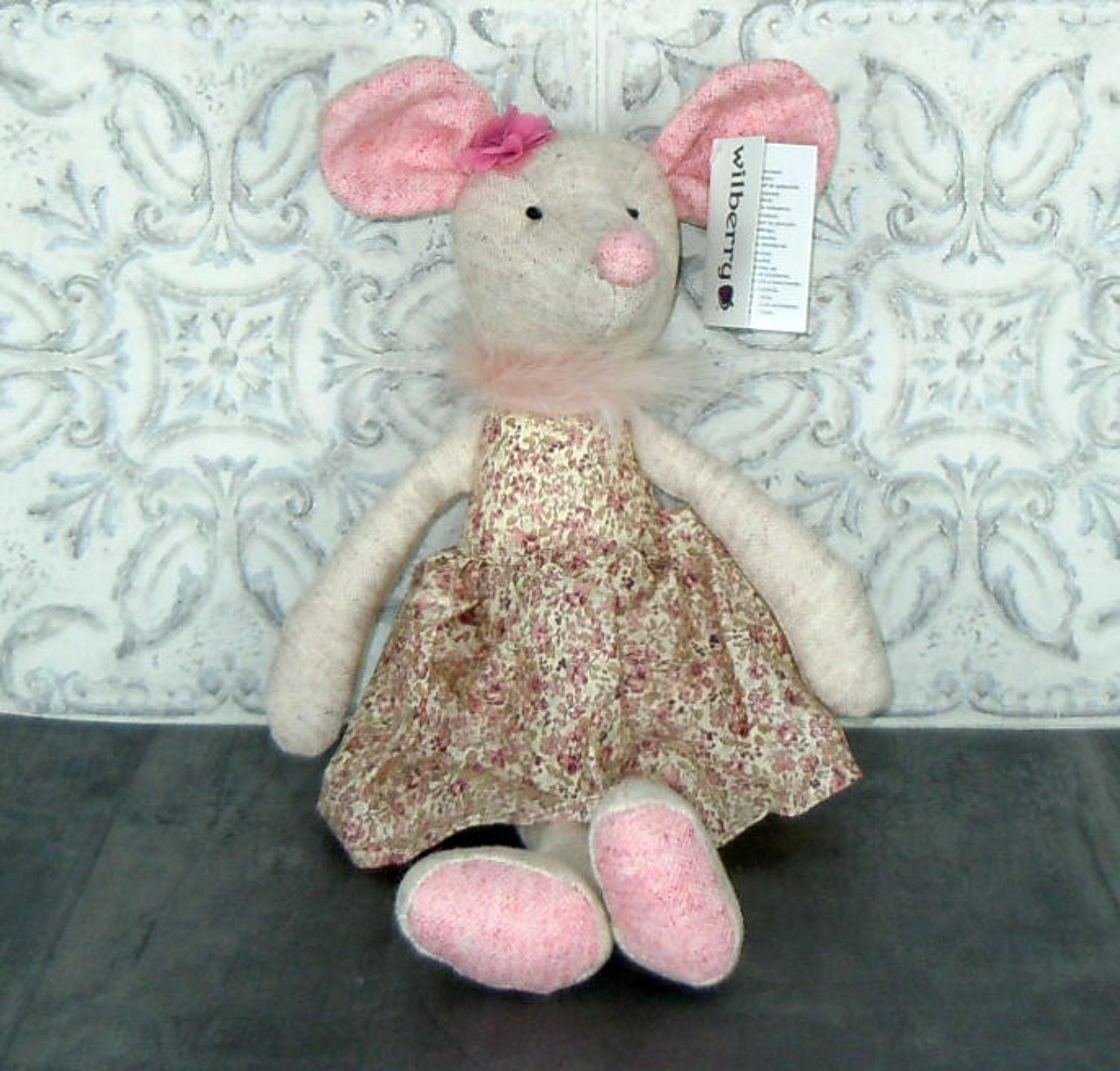 Wilberry Friends Mouse in dress