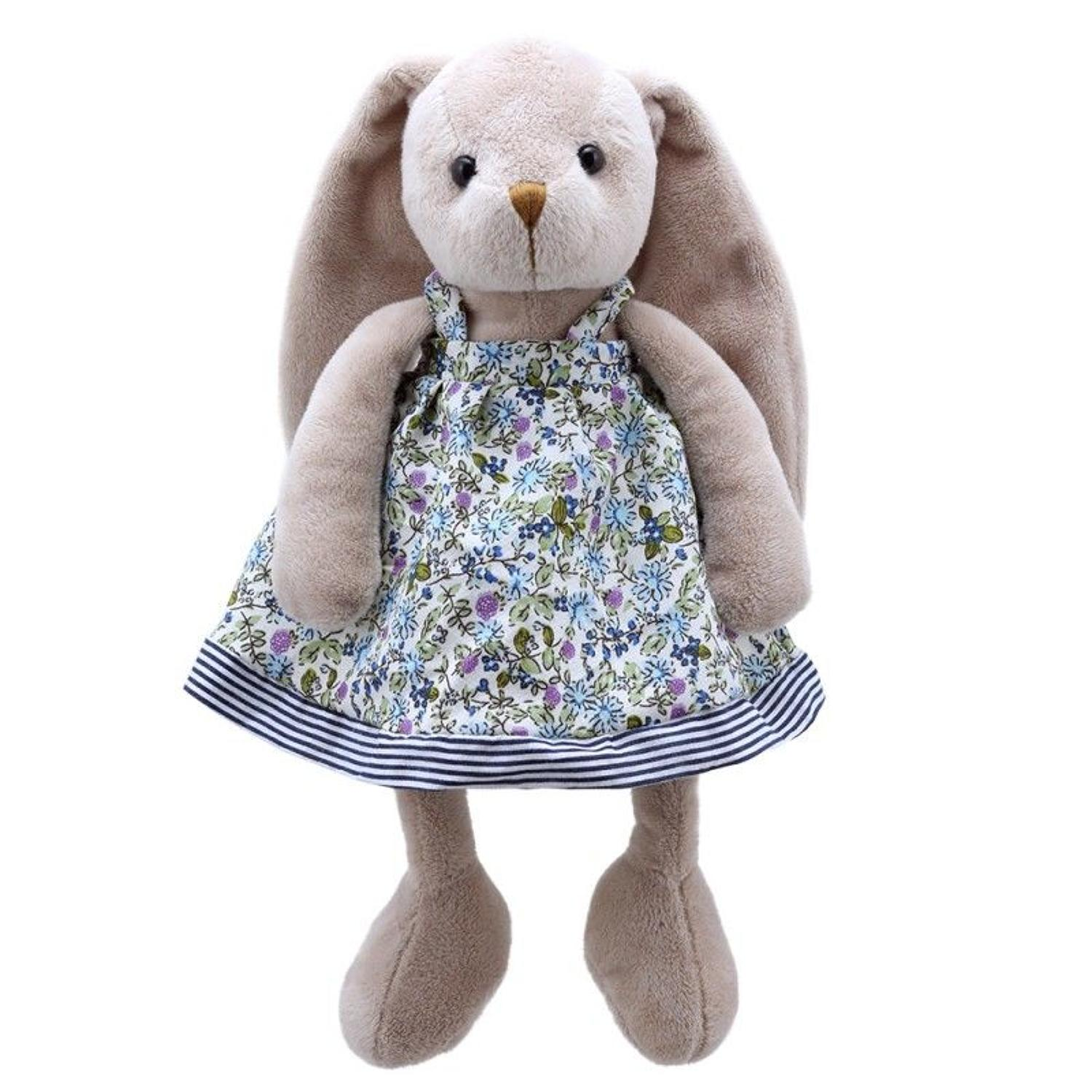 Wilberry Friends Mrs Rabbit blue