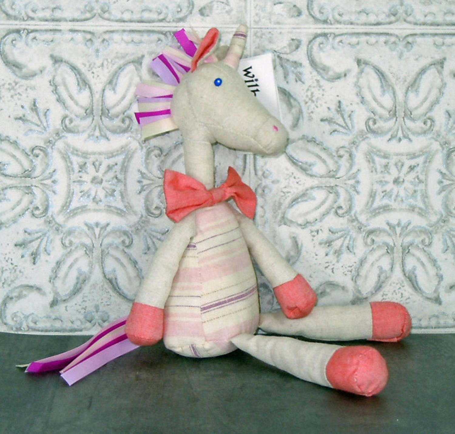 Wilberry linen pink Unicorn