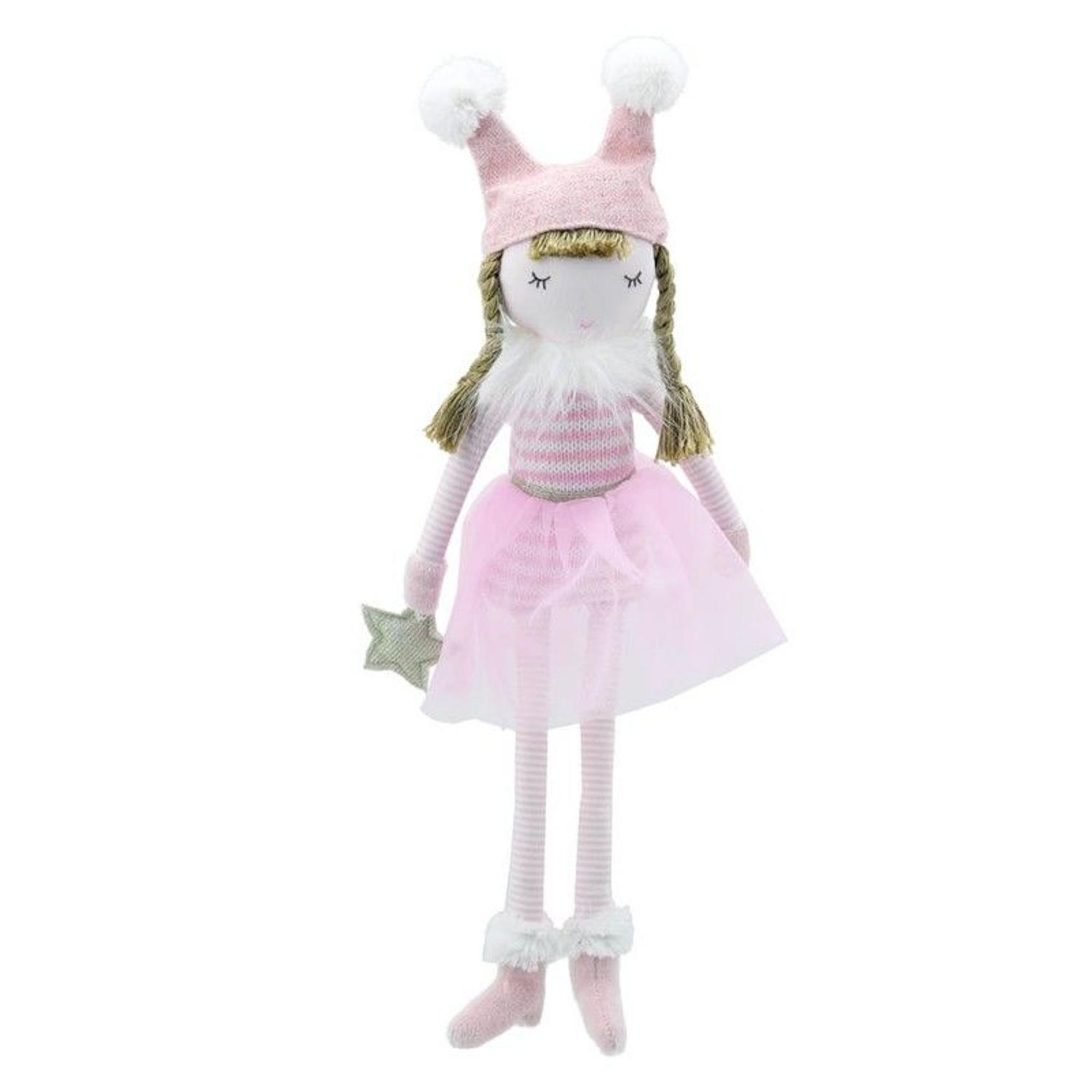 Wilberry small pink doll