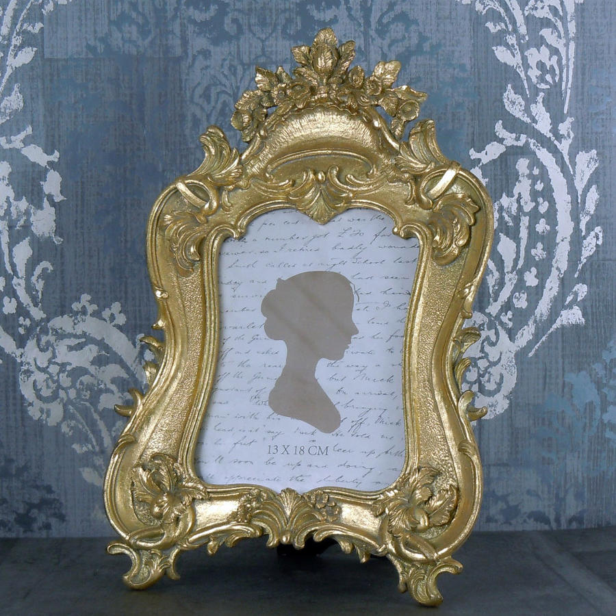 Baroque Gold photo frame