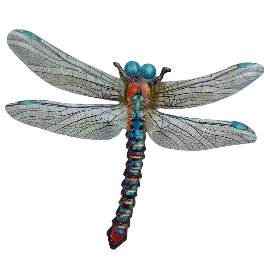 Metal wall hanging Dragonfly