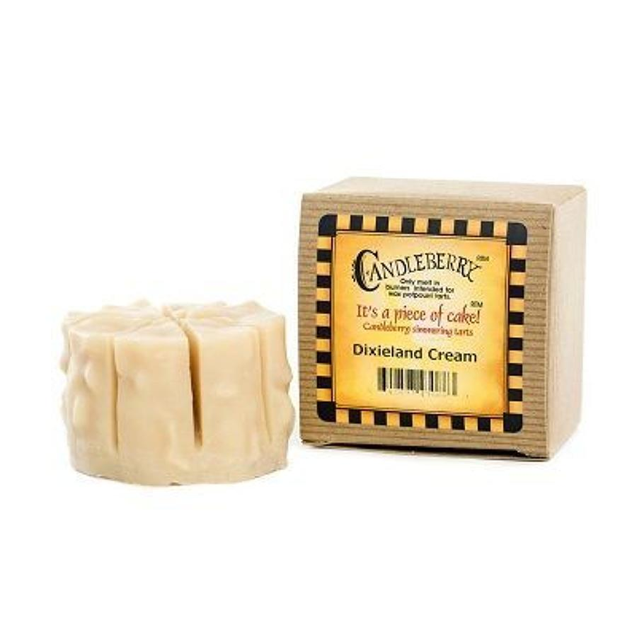 Candleberry Dixieland Cream cake wax melt