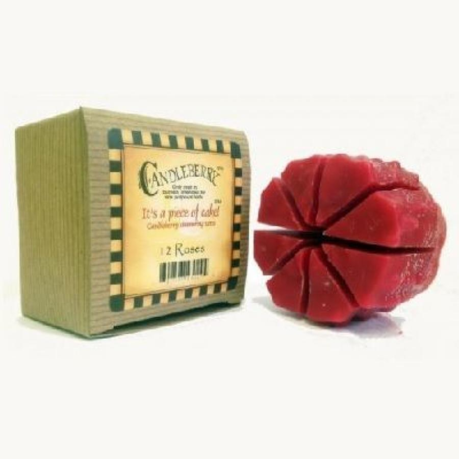 Candleberry 12 Roses cake wax melt