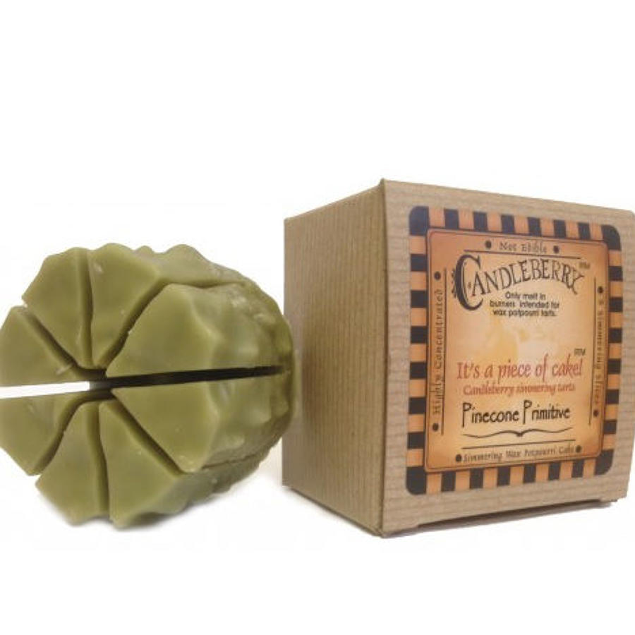 Candleberry Pinecone Primitive cake wax melt
