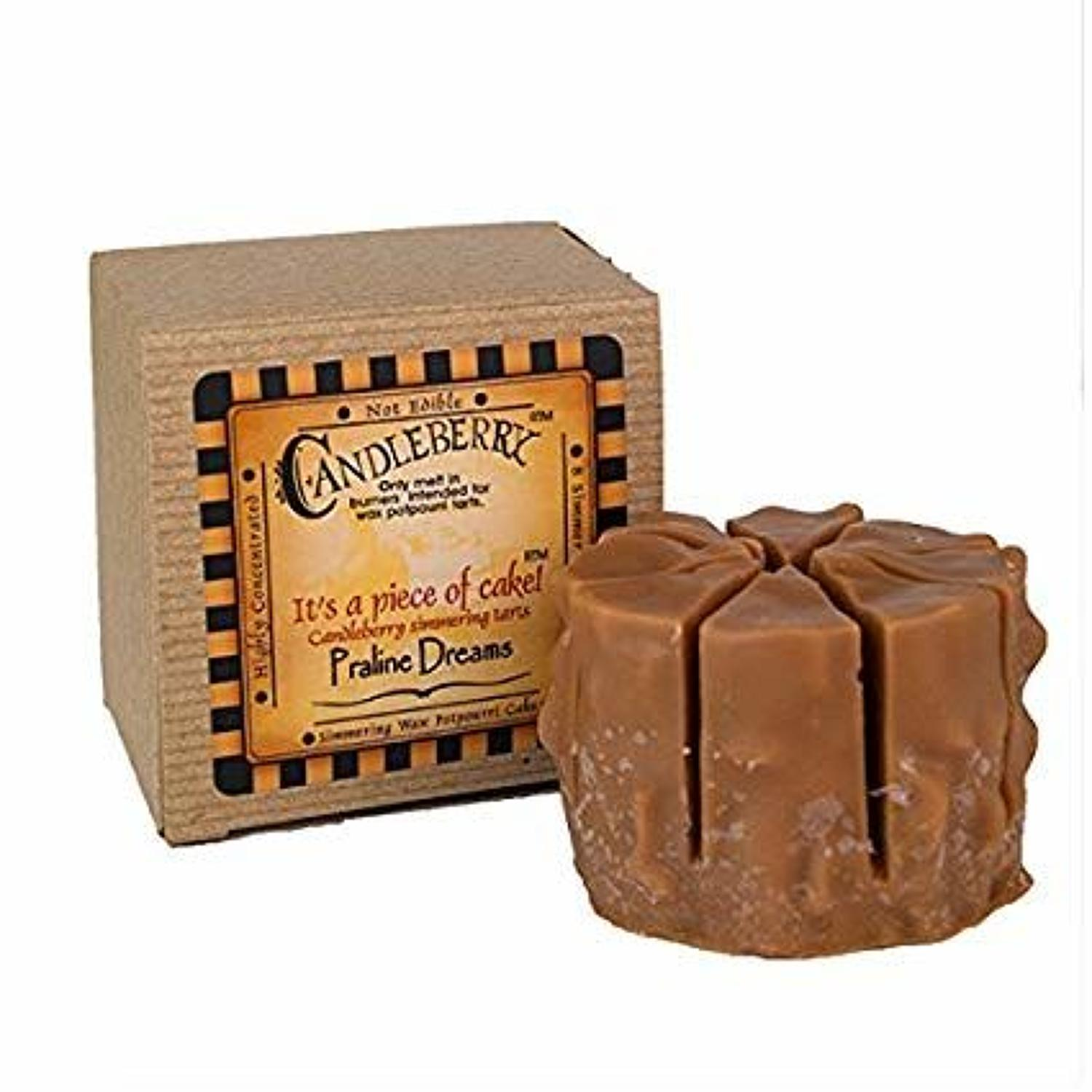 Candleberry Praline Dreams cake wax melt