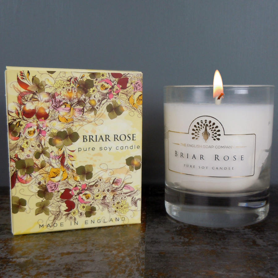 Briar Rose pure soy candle