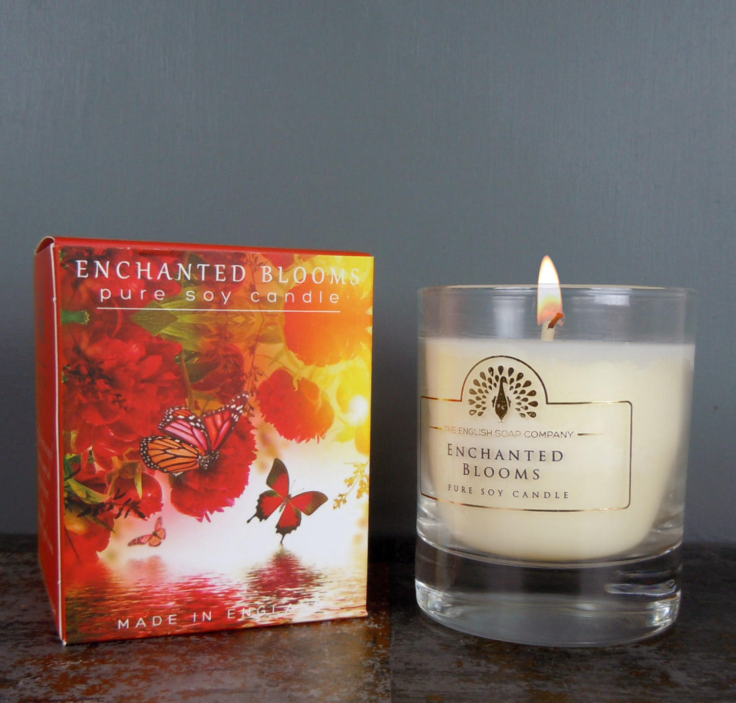 Enchanted Blooms pure soy candle