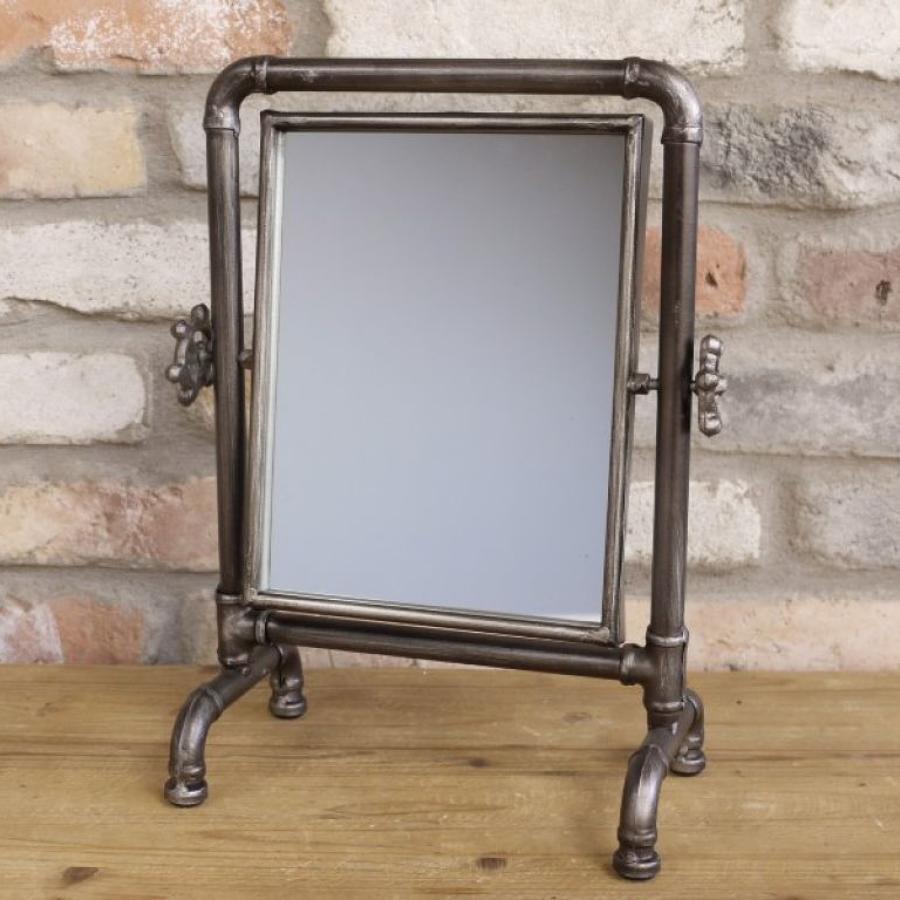 Industrial metal pipe mirror
