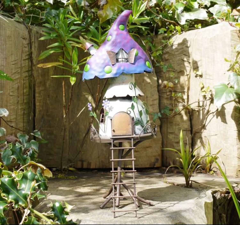 Metal Fairy Treehouse