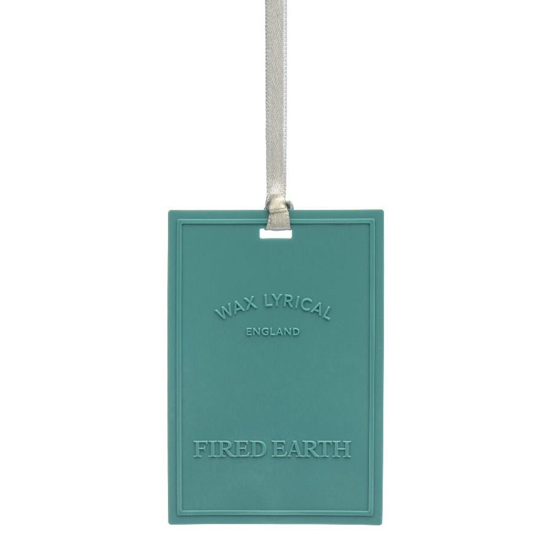 Wax Lyrical Fired Earth Green Tea & Bergamot scented polymer card