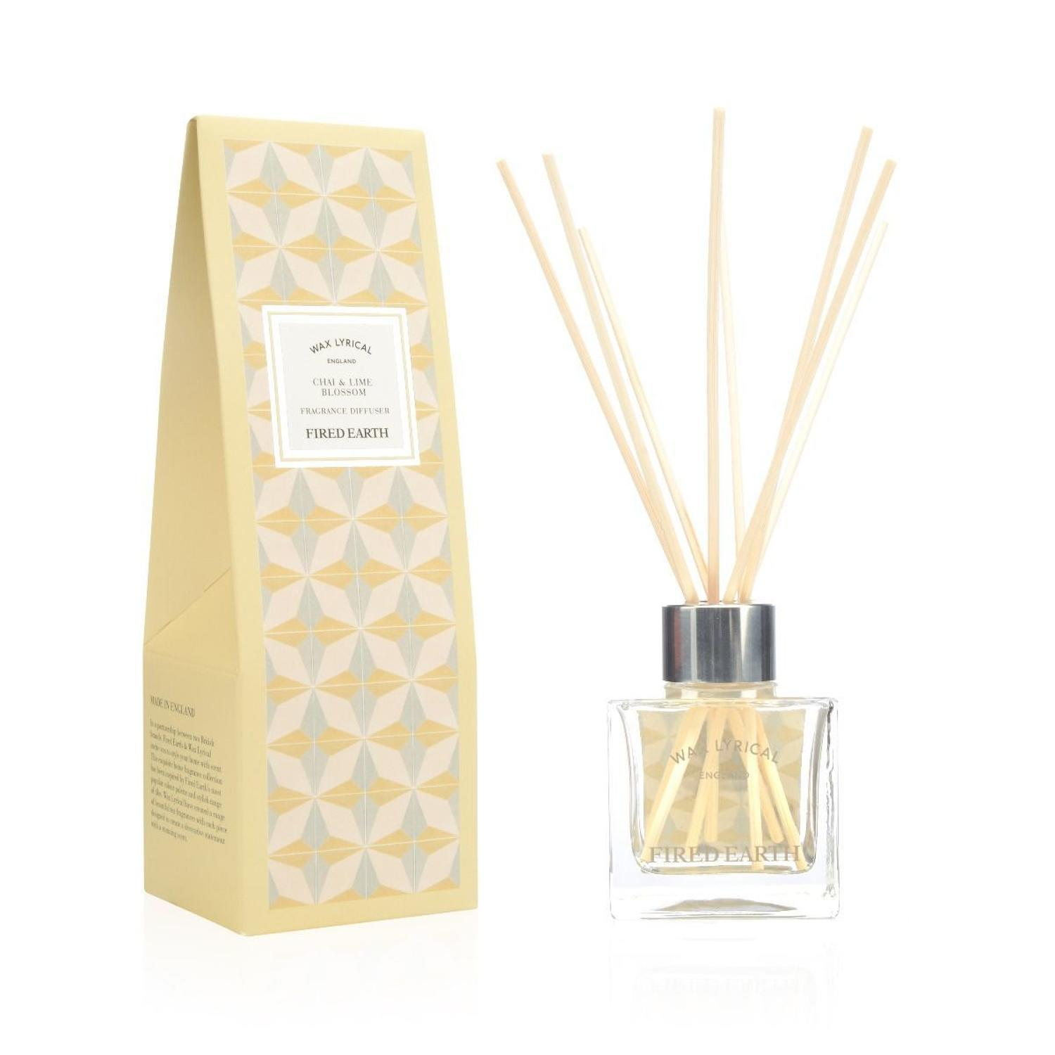 Wax Lyrical Fired Earth Chai & Lime Blossom Diffuser