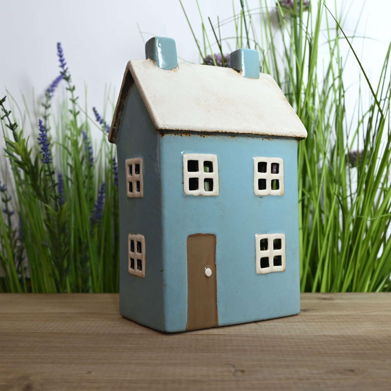 Pottery Village house tealight holder.