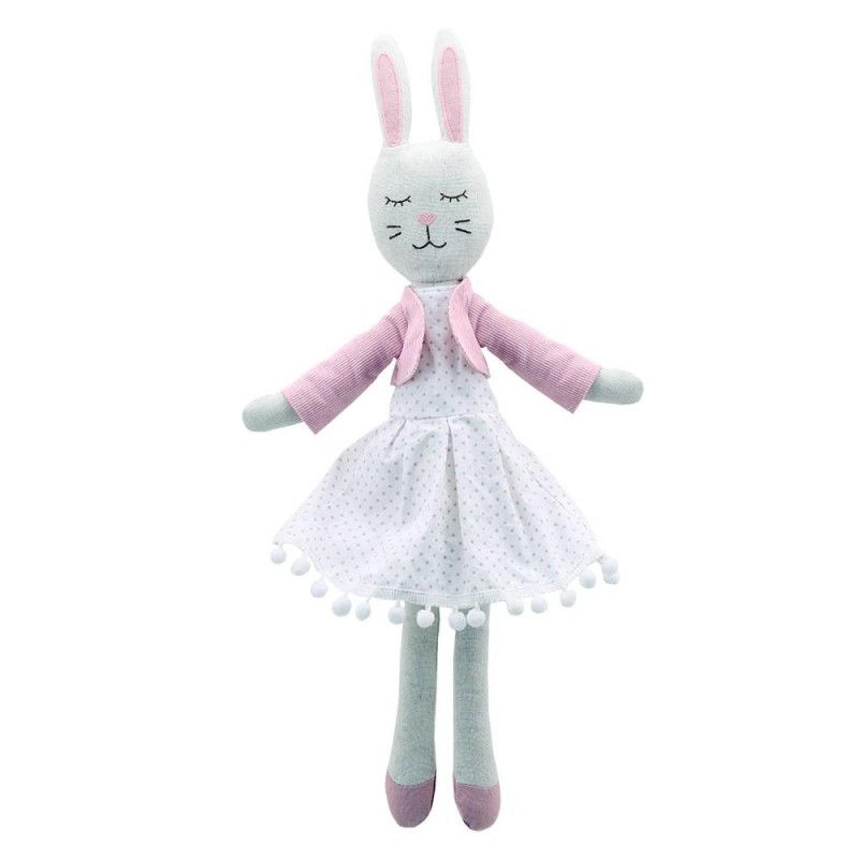 Wilberry Linen Rabbit in a dress