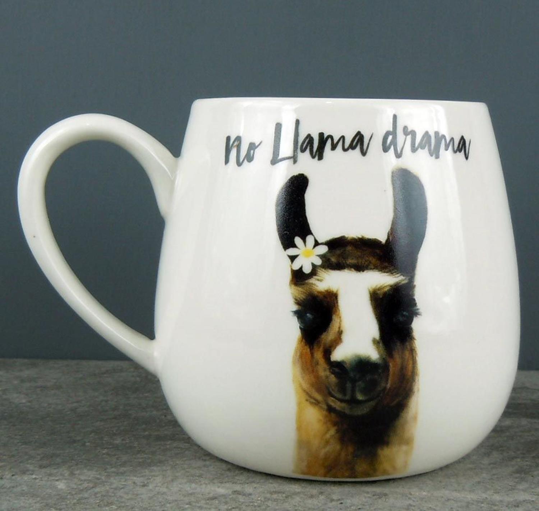 No Llama Drama Mug