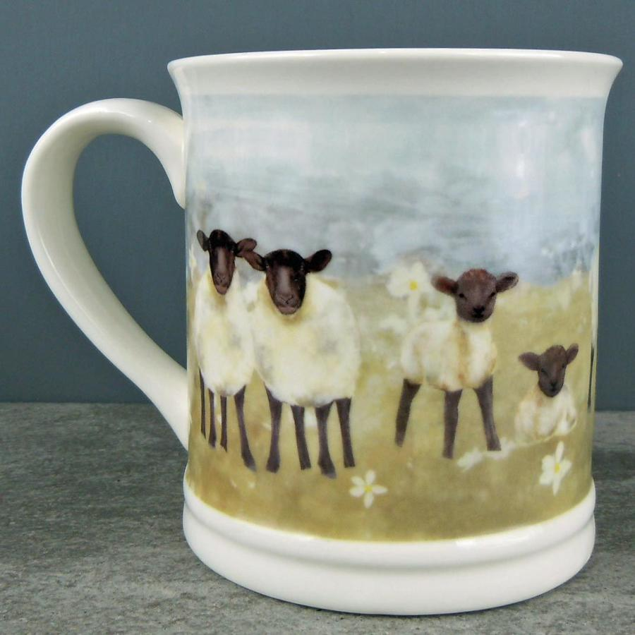 Country Sheep mug