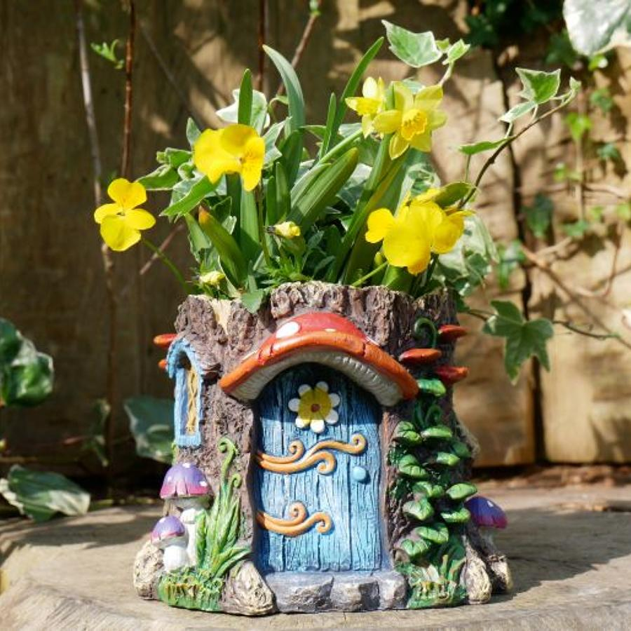 Fairy House planter