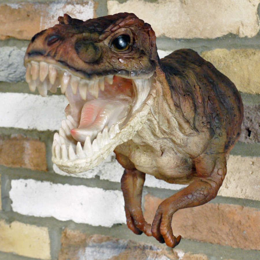 Wall mounted T-Rex Dinosaur