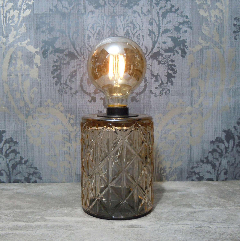 Edison bulb LED battery lamp
