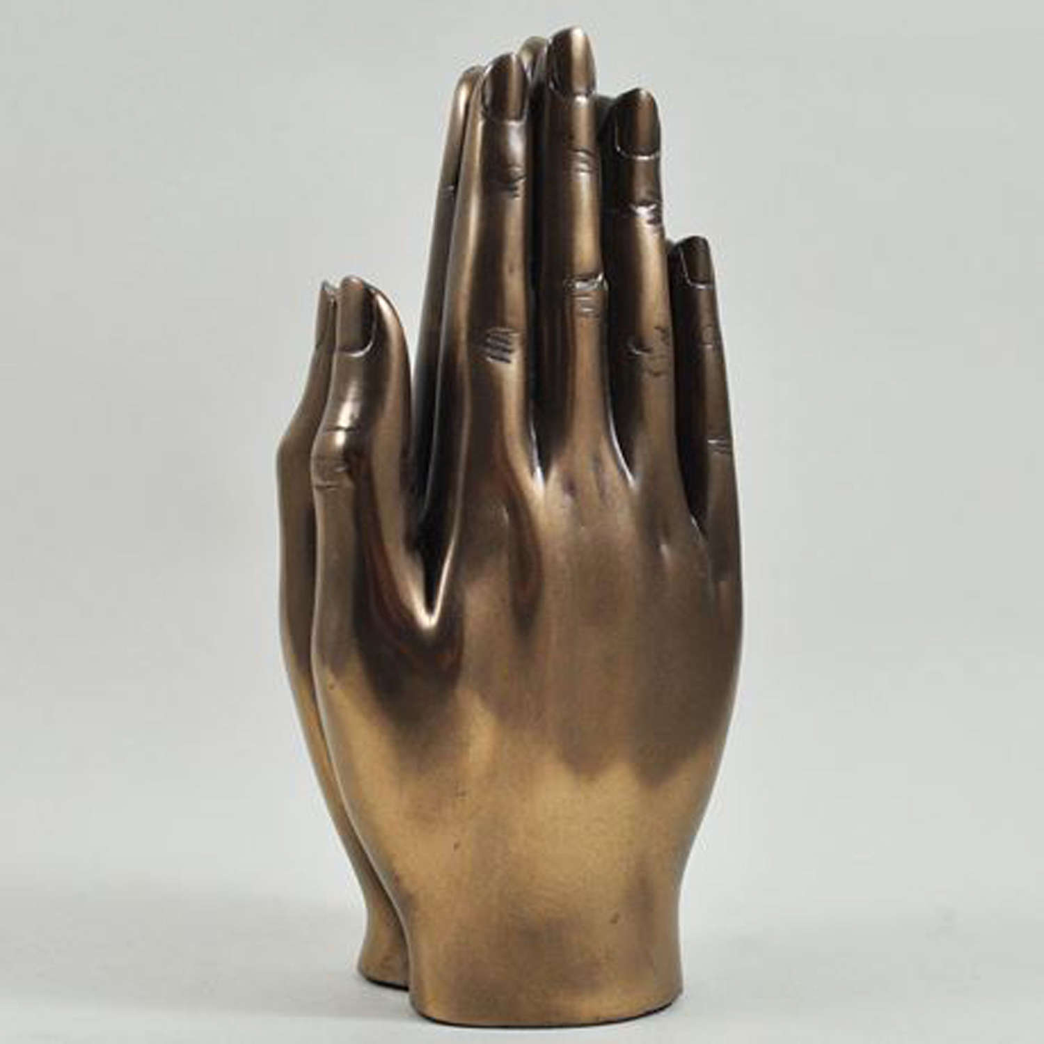 Praying Hands, Cold cast Bronze sculpture