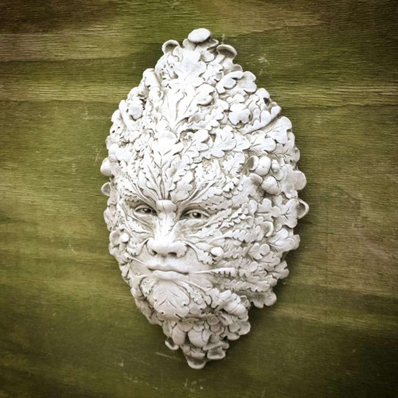 Stoneware Acorn Lady