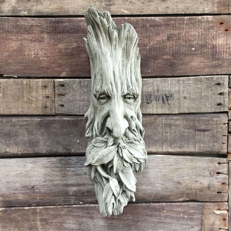 Wall hanging Stoneware Woodman