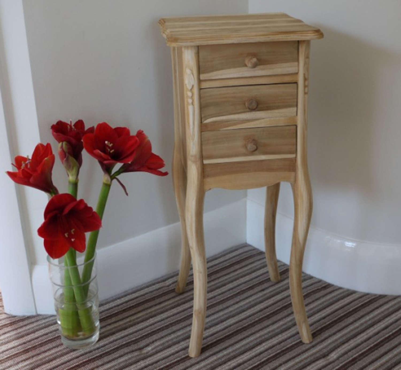 Sold Teak three drawer cabinet