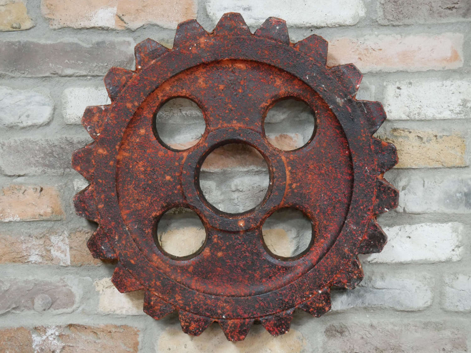 Industrial cog wall art