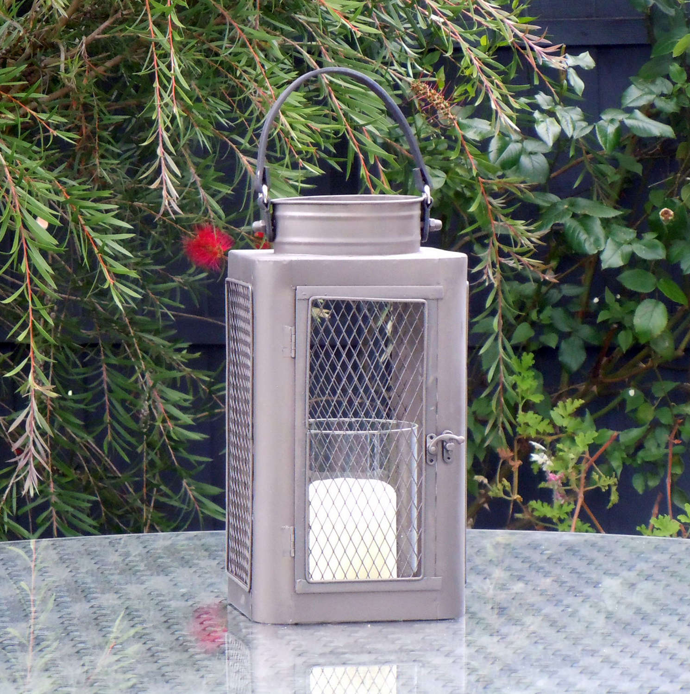 Industrial Campden metal lantern