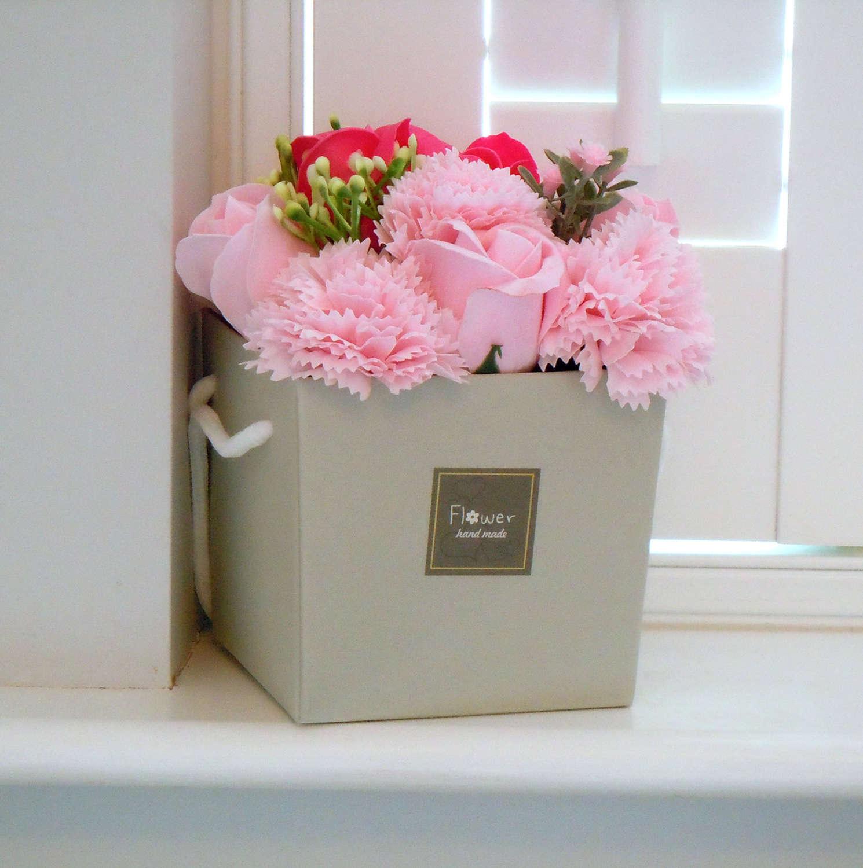 Bouquet of soap flowers