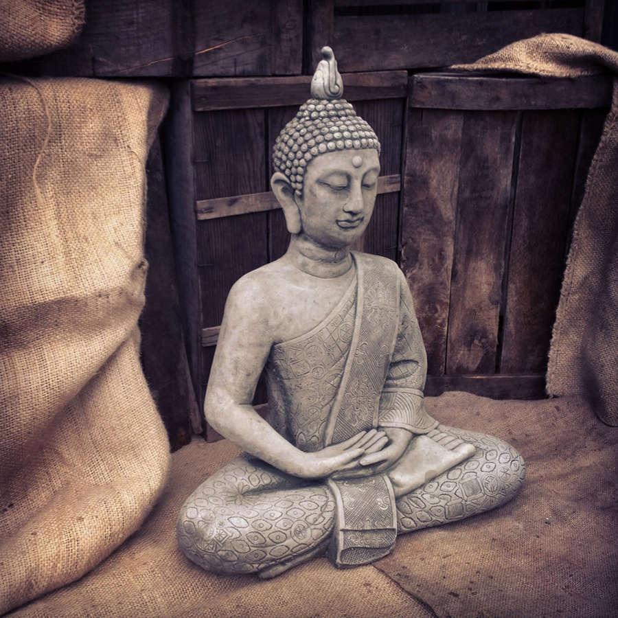 Stoneware Buddha
