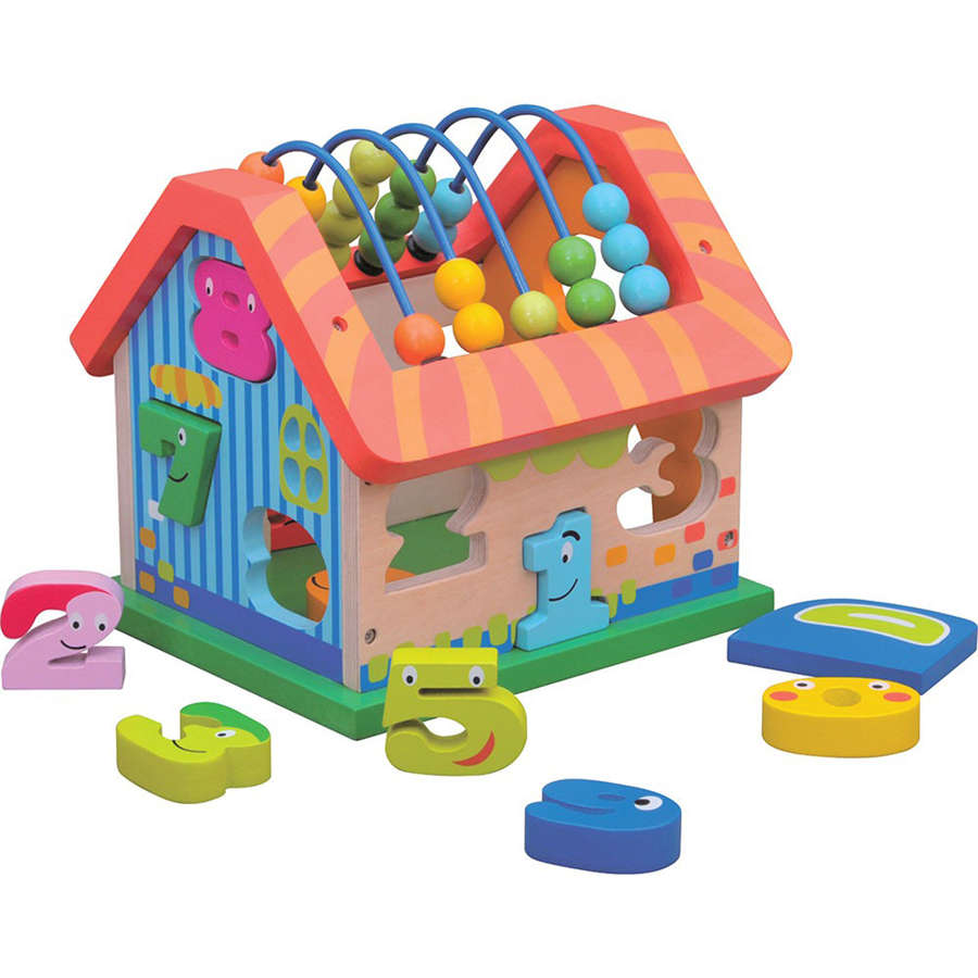 Wooden activity house