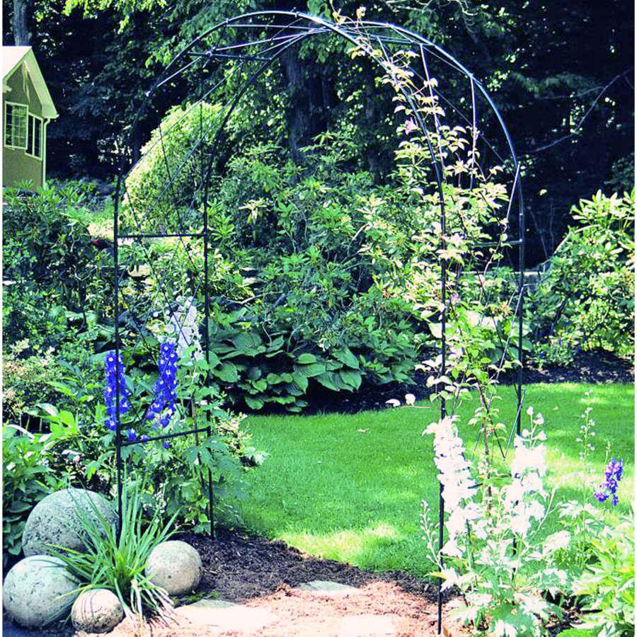 Poppyforge Oregon garden Arch manufactured in the UK