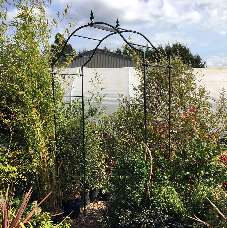 Poppyforge Arcadia garden Arch manufactured in the UK