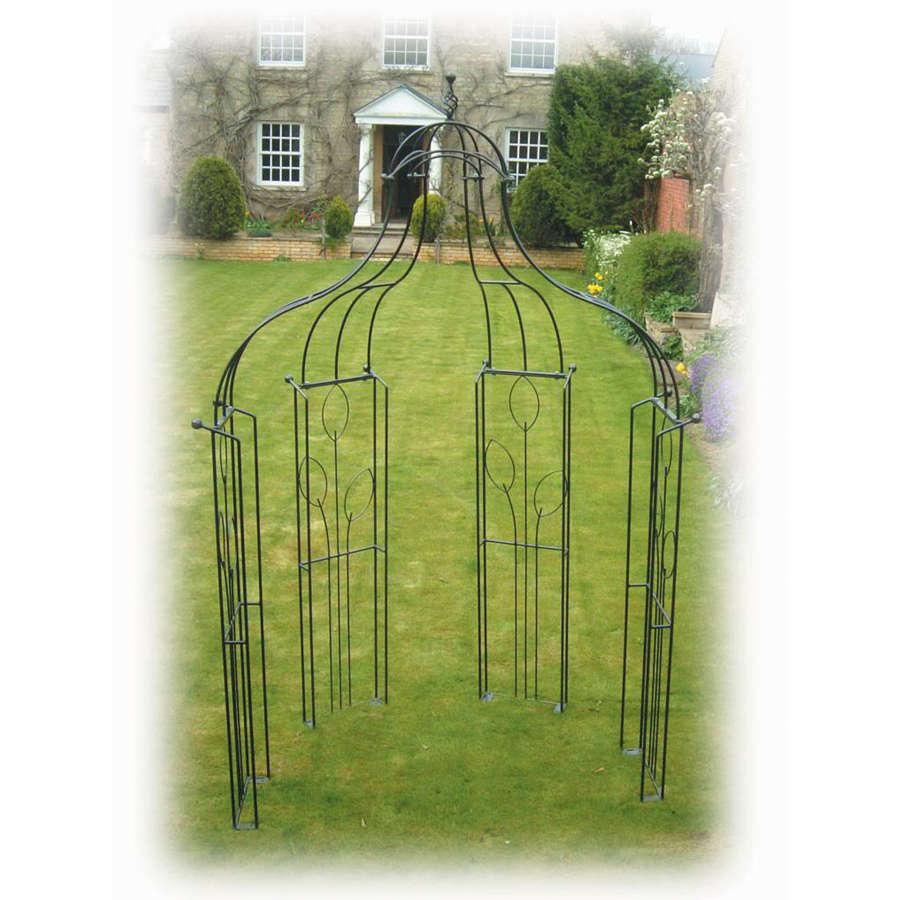 Poppyforge Flower Bower garden Arch manufactured in the UK