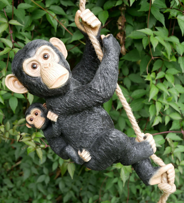 Hanging Monkey & Baby