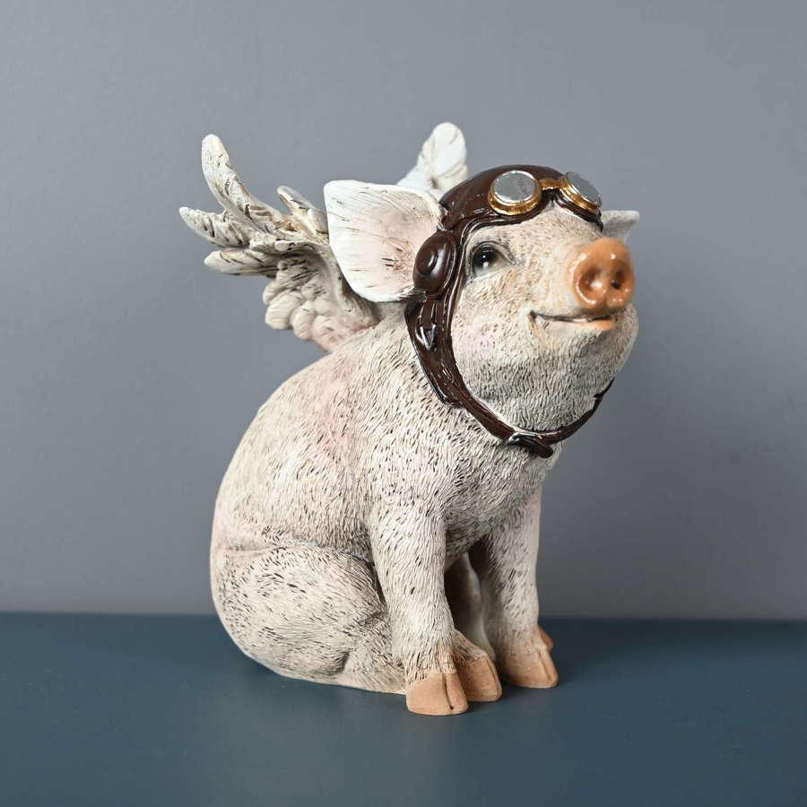 Sitting Piglet Pilot figure