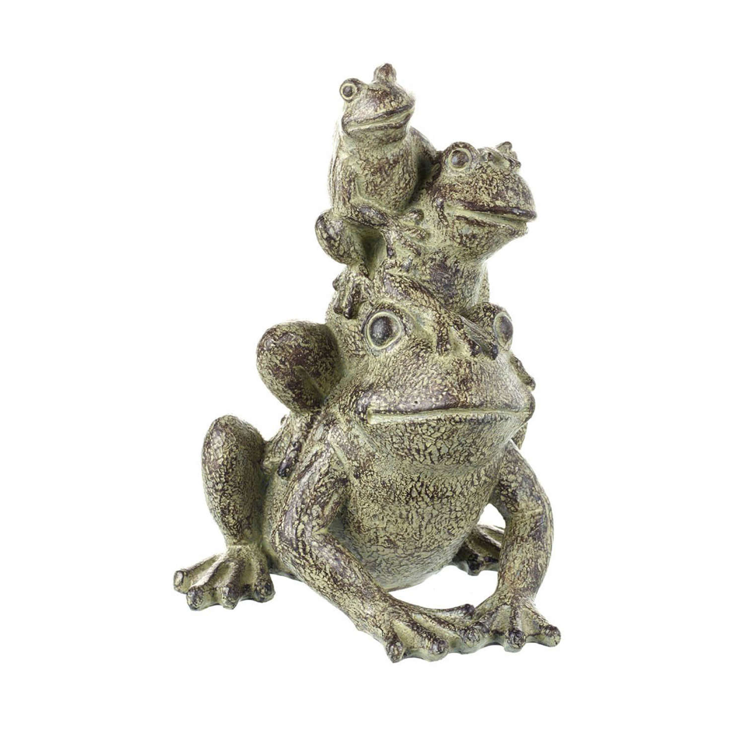 Three Frogs ornament