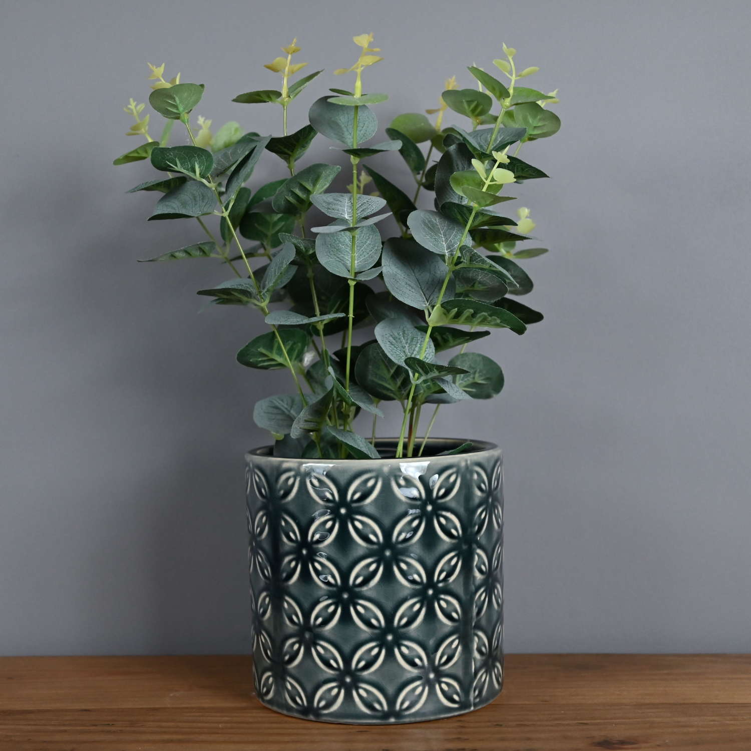 Seville Collection Eclipse Grey Plant pot