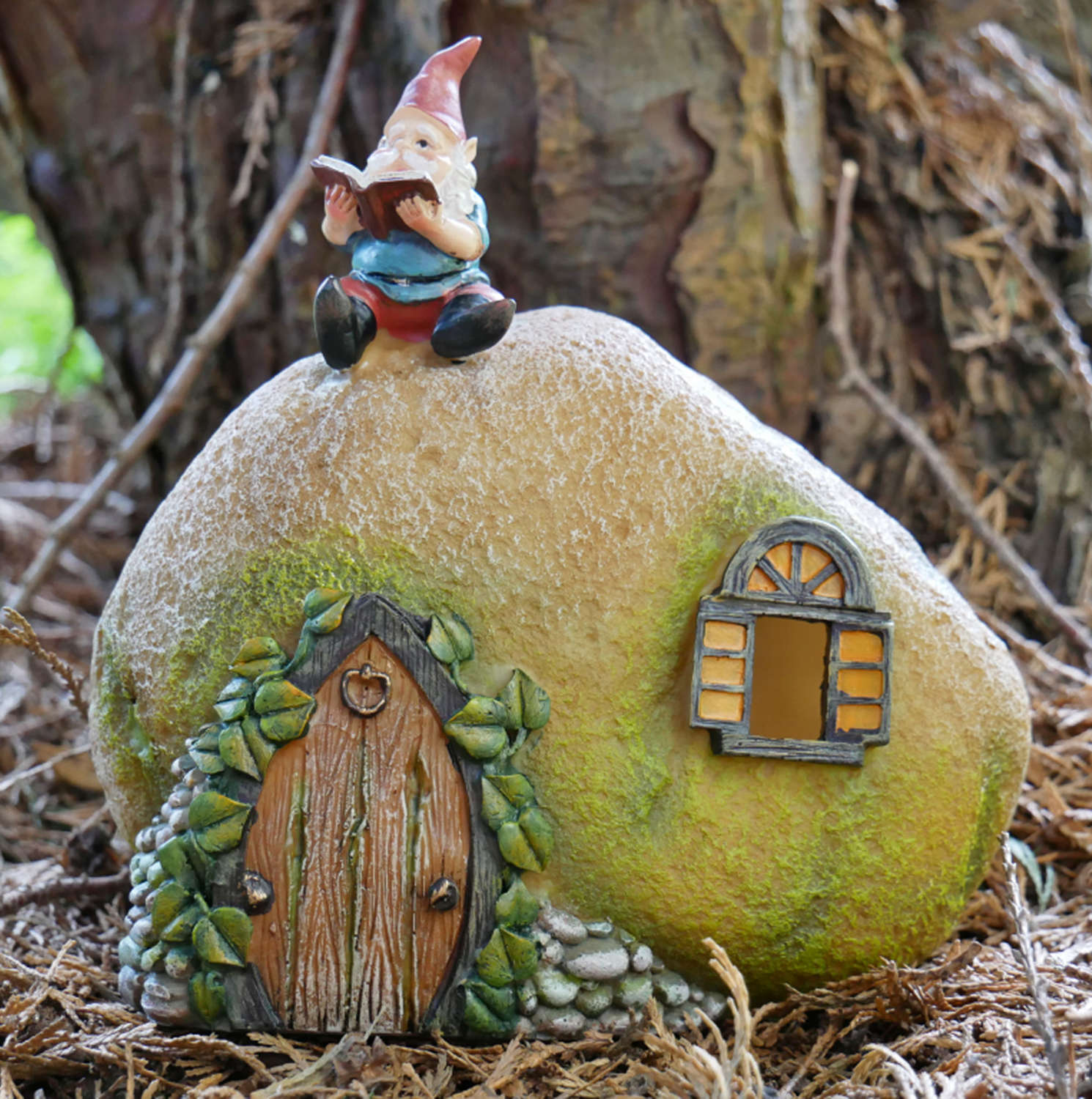 Solar powered Gnome house
