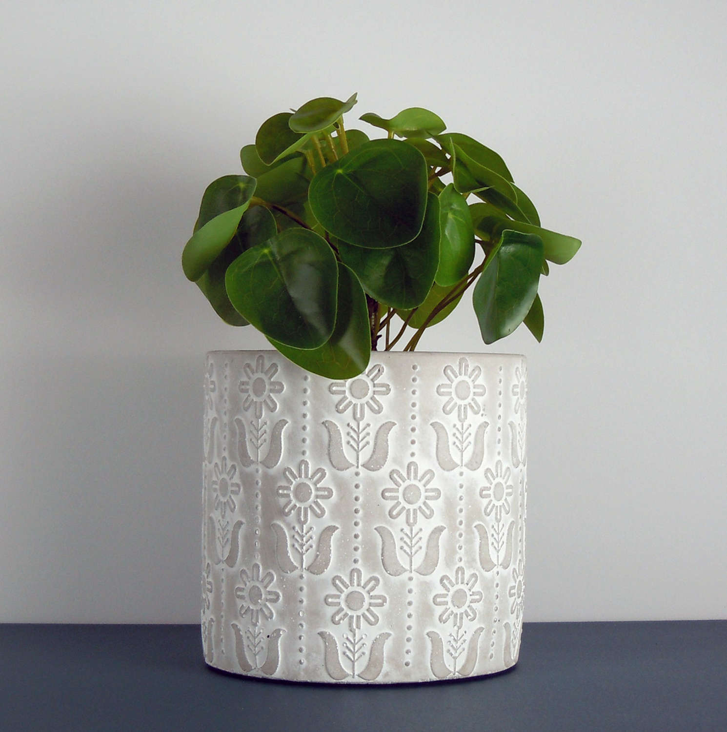 Sunflower plant pot