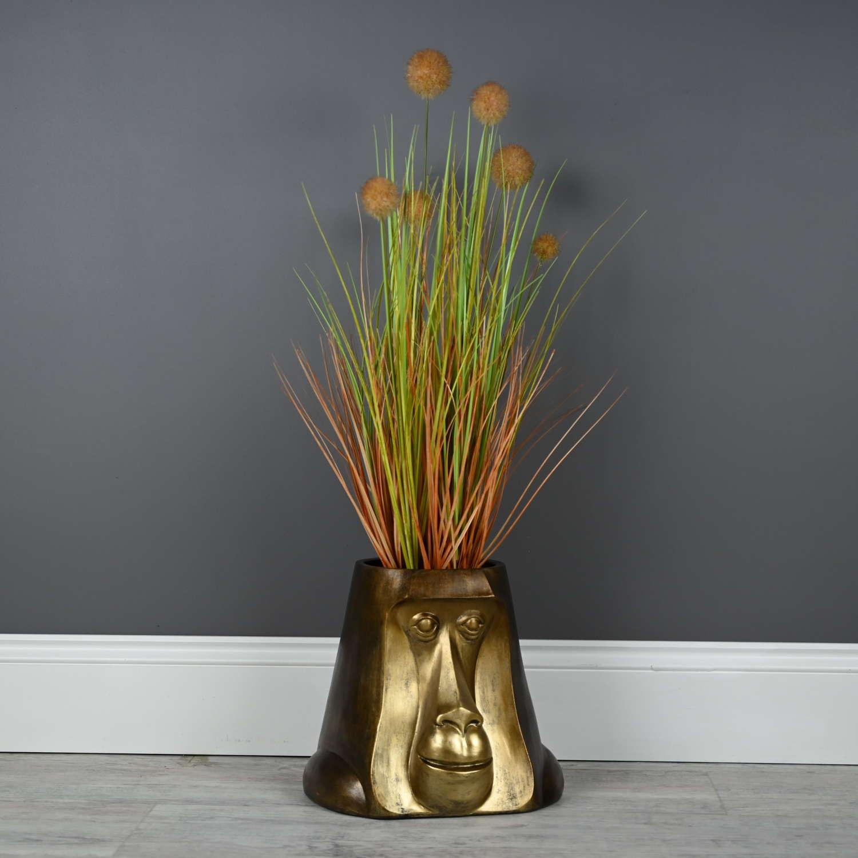 Monkey planter pot