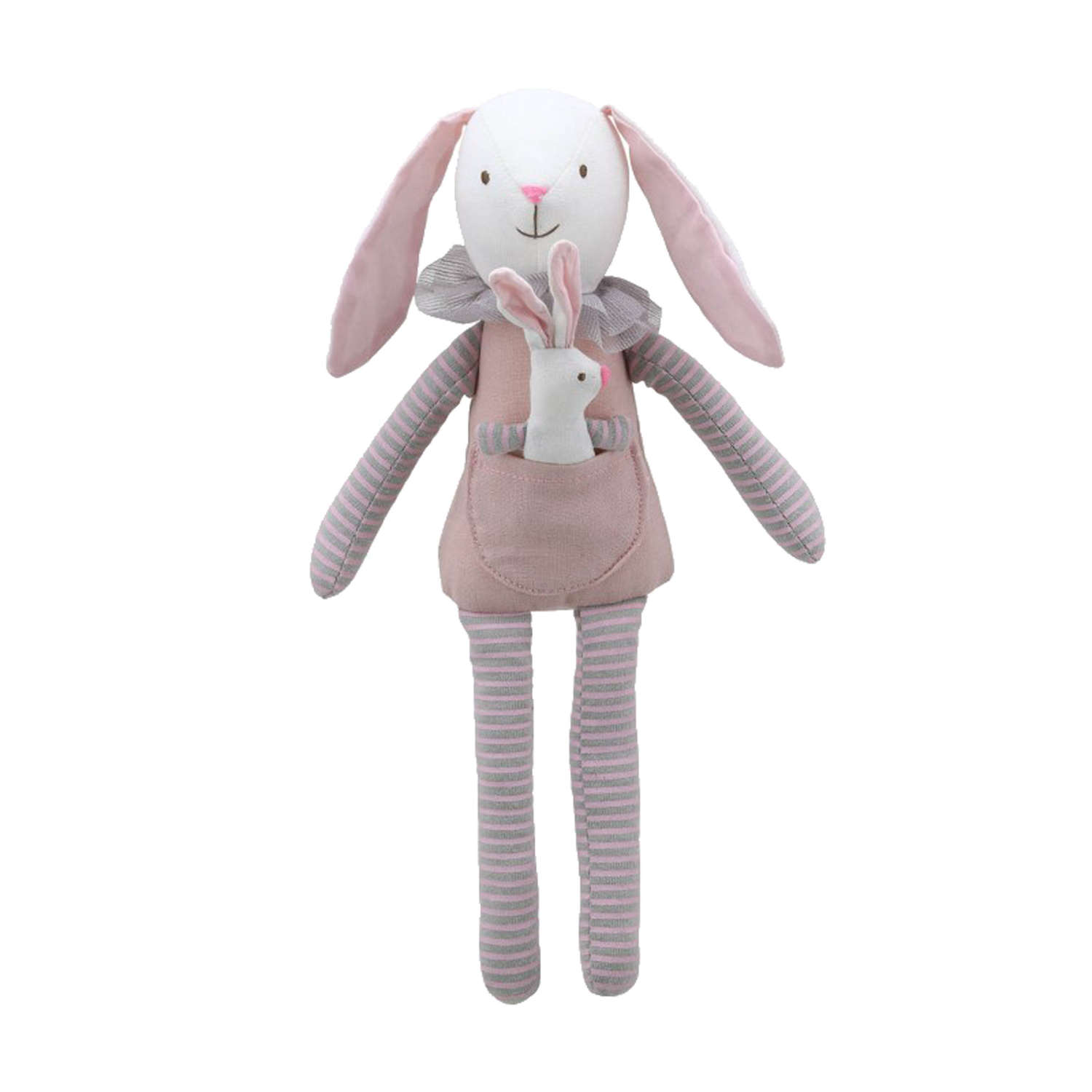 Wilberry Family pink rabbit