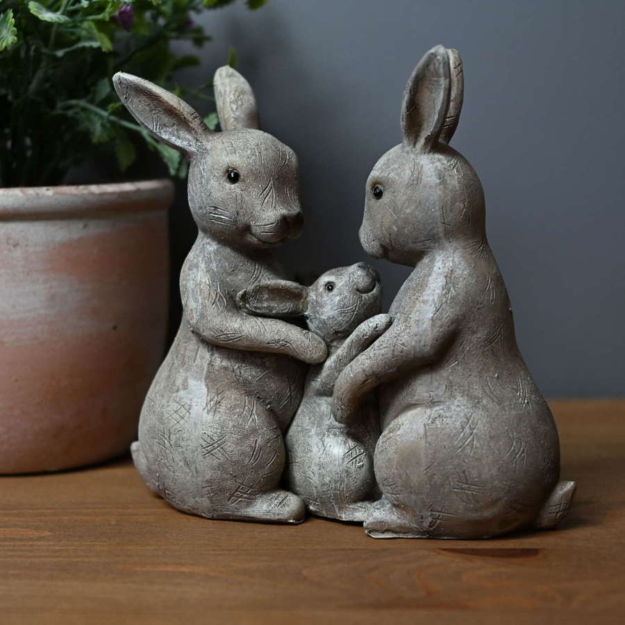 Rabbit Family ornament
