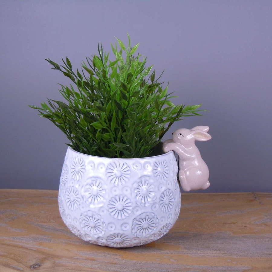 Rabbit pot hanger
