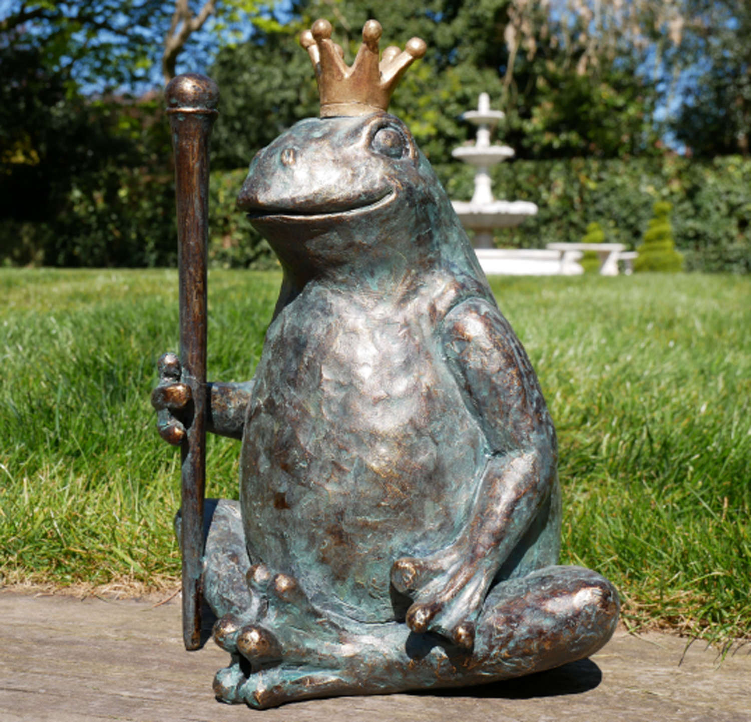 Frog King ornament